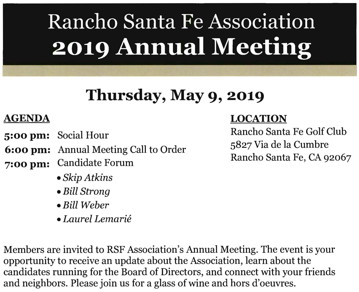 Annual Meeting - RSF Post