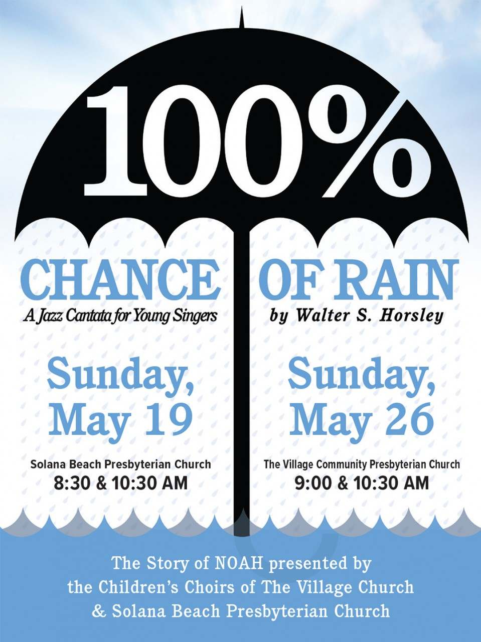 100% Chance of Rain: A Jazz Cantata for Young Singers