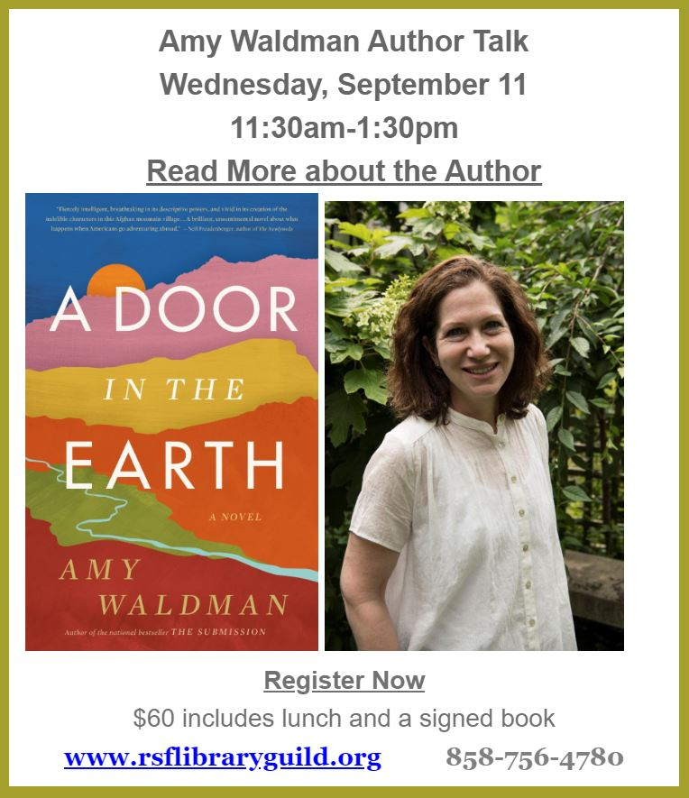 Author Talk: A Door in the Earth