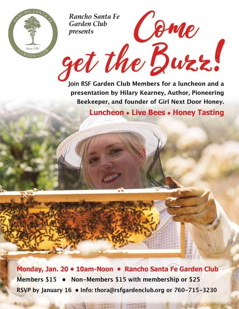 Beekeeping Luncheon @ RSF Garden Club