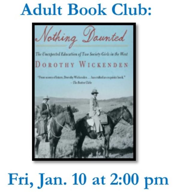 Book Club: Nothing Daunted @ RSF Library