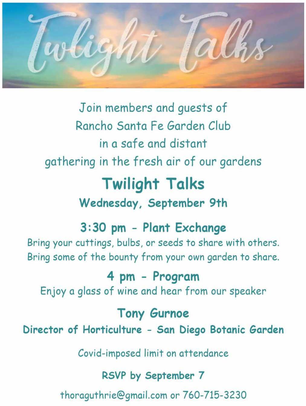 Twilight Talks